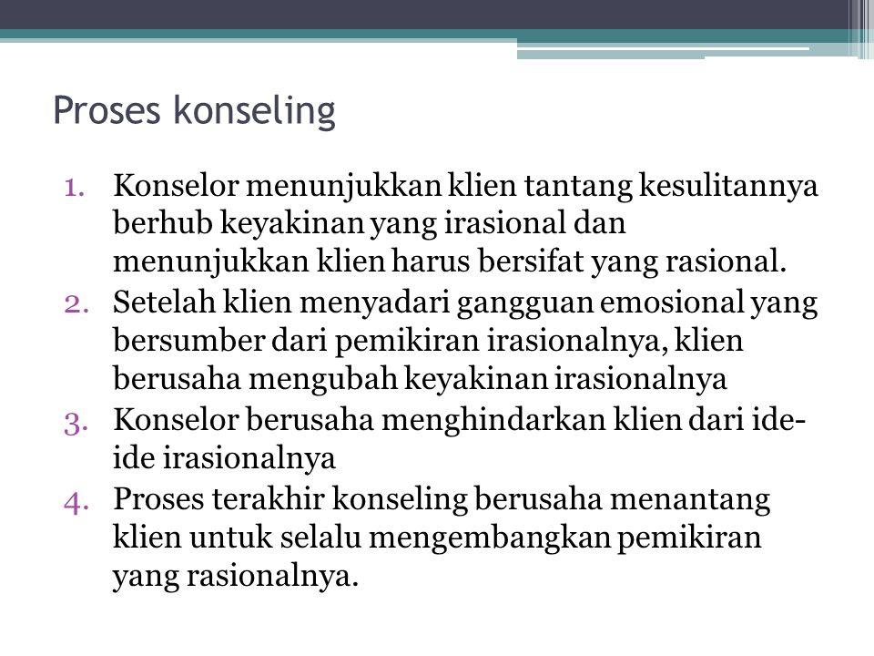 Proses konseling