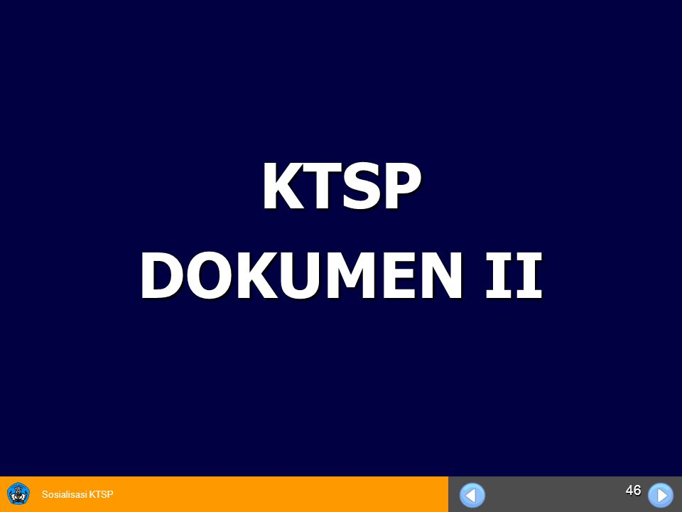 KTSP DOKUMEN II