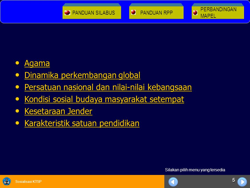 Dinamika perkembangan global