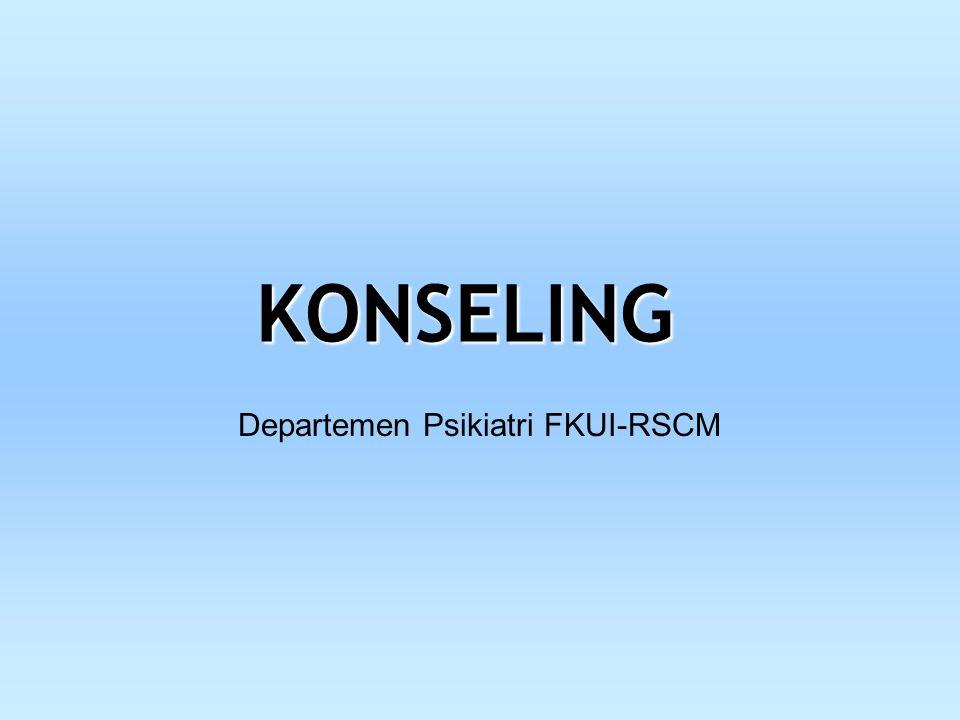 Departemen Psikiatri FKUI-RSCM