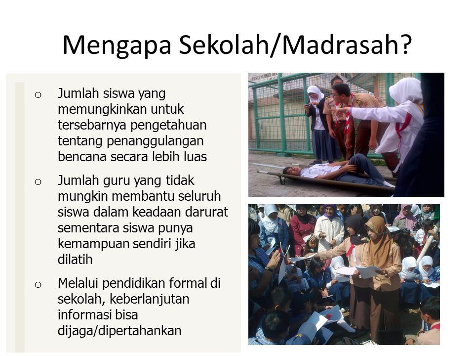 Mengapa Sekolah/Madrasah