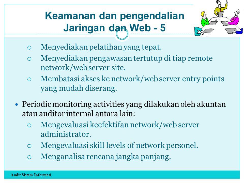 Keamanan dan pengendalian Jaringan dan Web - 5