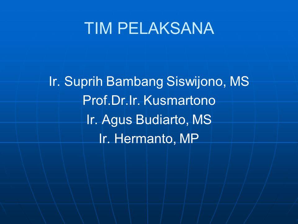 Ir. Suprih Bambang Siswijono, MS