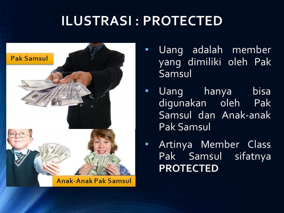 ILUSTRASI : PROTECTED Uang adalah member yang dimiliki oleh Pak Samsul