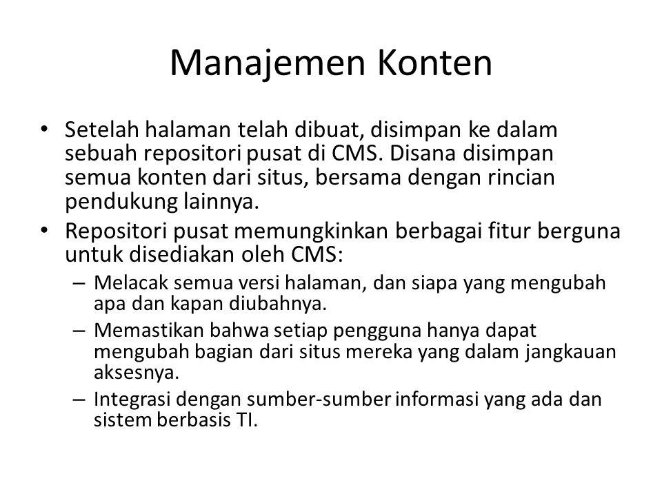 Manajemen Konten