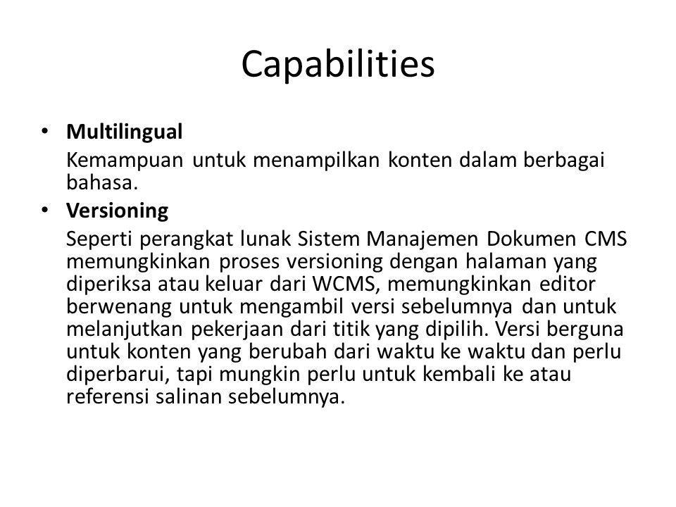 Capabilities Multilingual