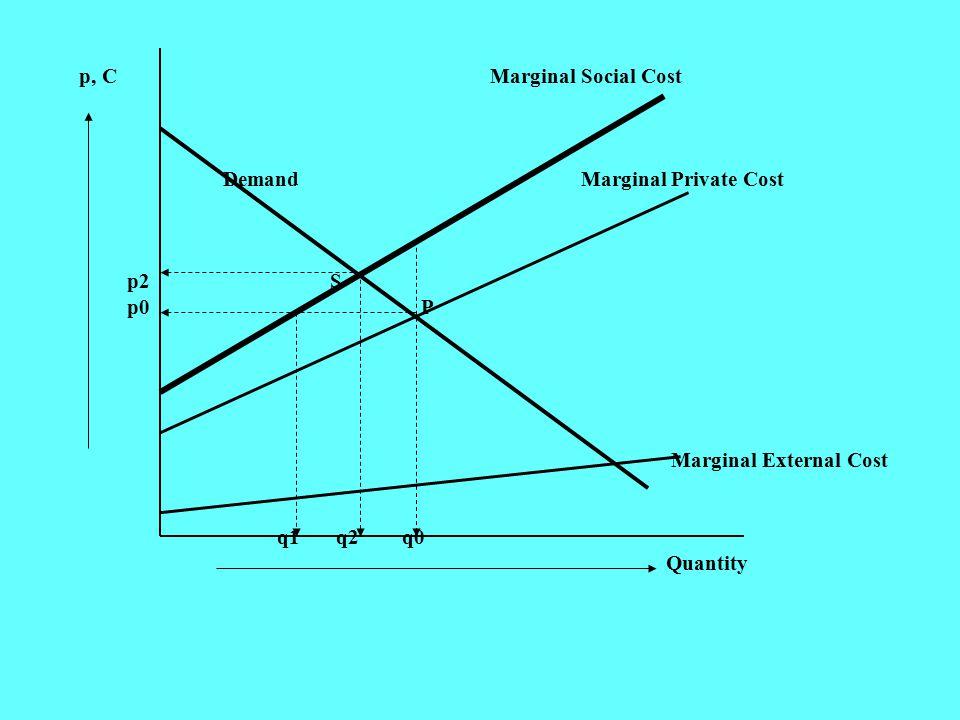 p, C Marginal Social Cost