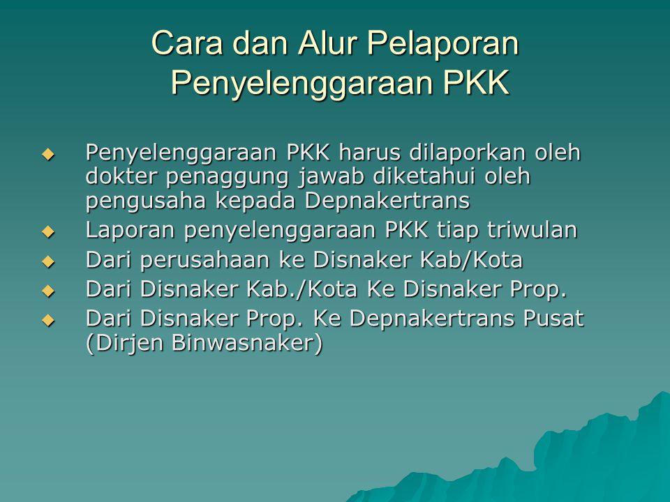 Cara dan Alur Pelaporan Penyelenggaraan PKK
