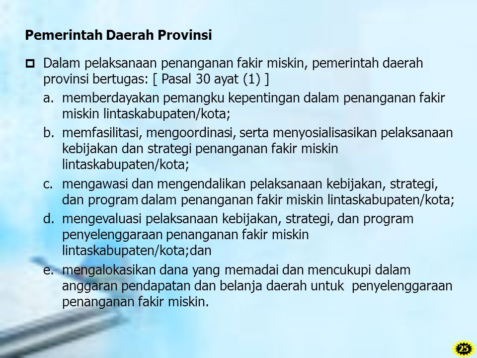 Pemerintah Daerah Provinsi