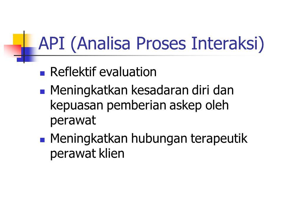 API (Analisa Proses Interaksi)