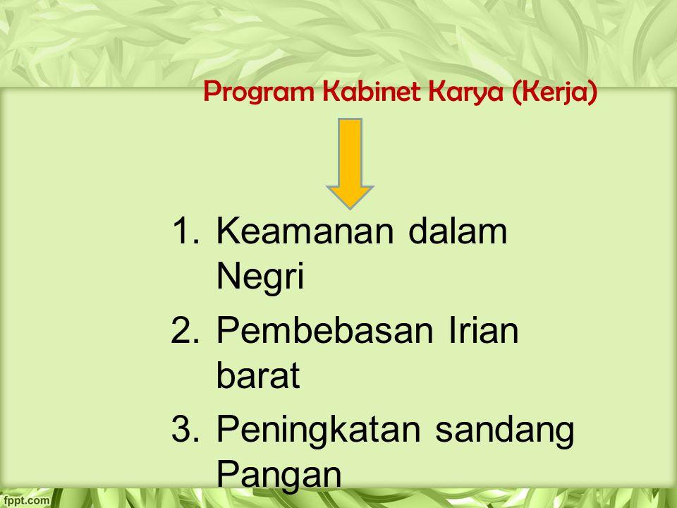 Program Kabinet Karya (Kerja)