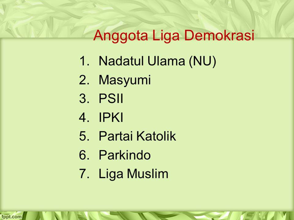 Anggota Liga Demokrasi