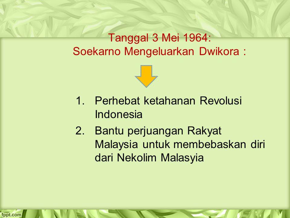 Tanggal 3 Mei 1964: Soekarno Mengeluarkan Dwikora :