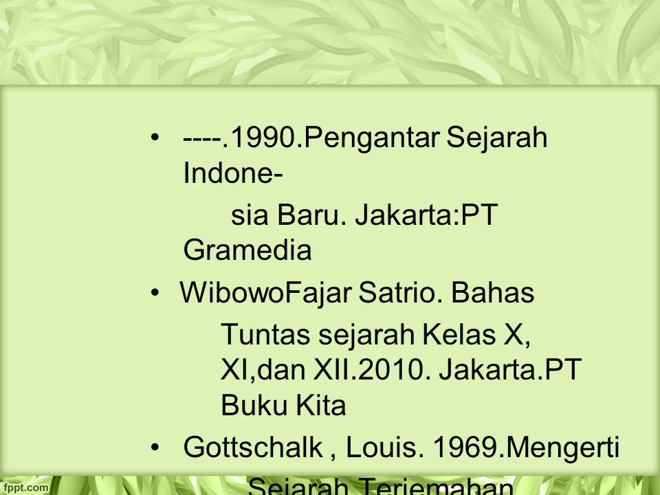 ----.1990.Pengantar Sejarah Indone-
