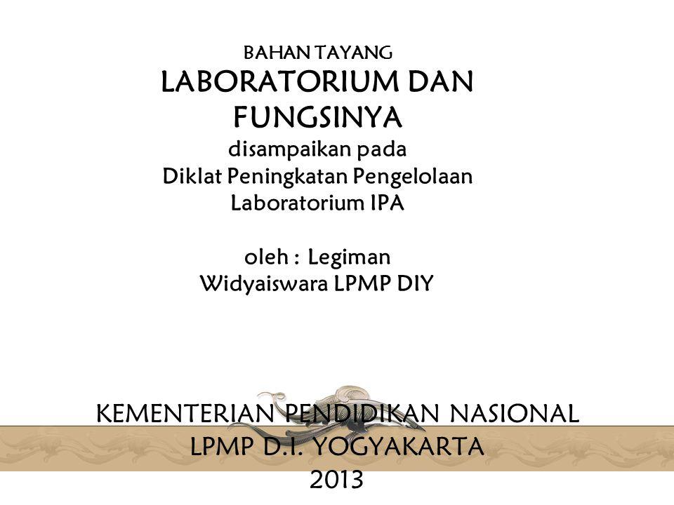 KEMENTERIAN PENDIDIKAN NASIONAL LPMP D.I. YOGYAKARTA 2013
