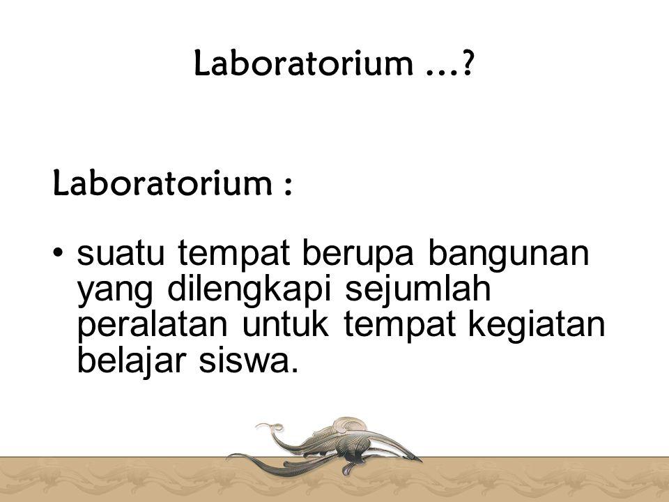 Laboratorium ….