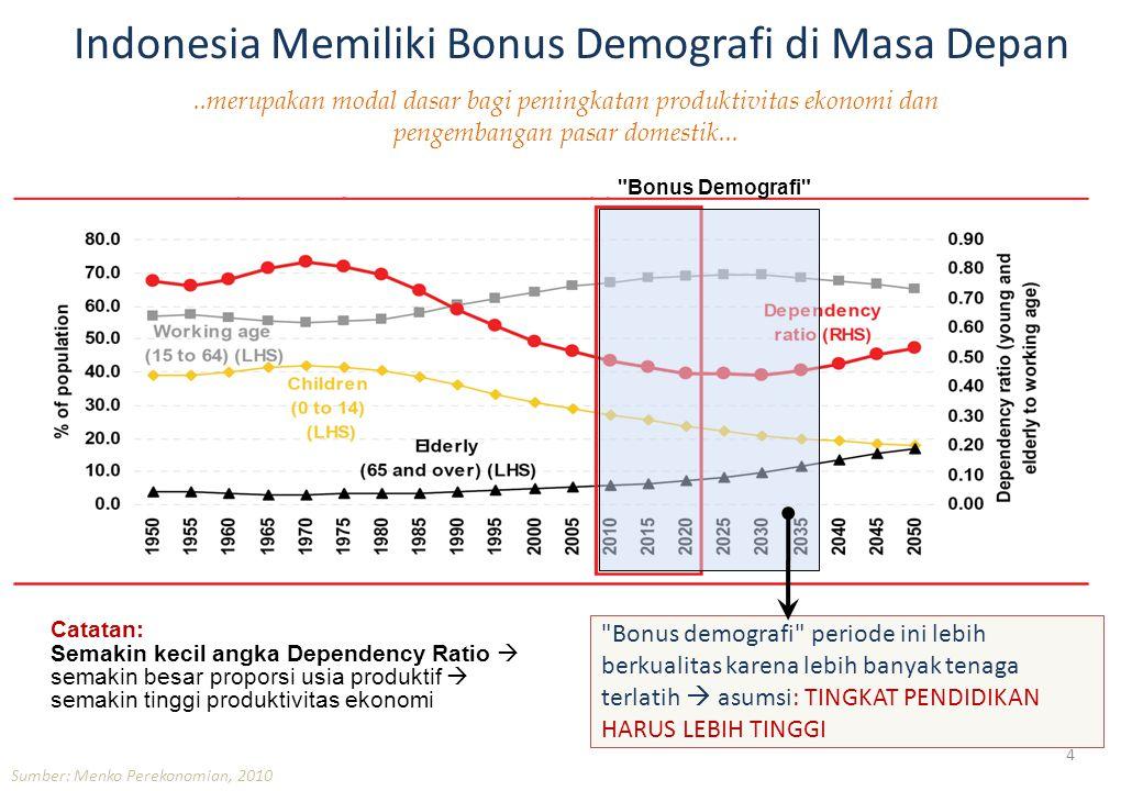 Indonesia Memiliki Bonus Demografi di Masa Depan