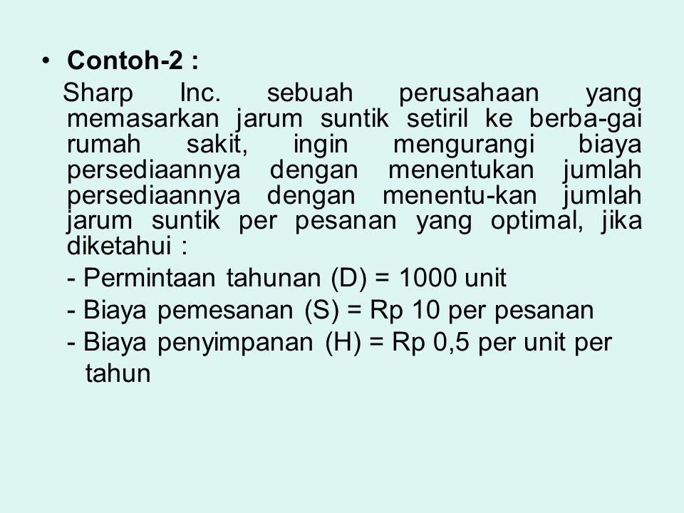 Contoh-2 :