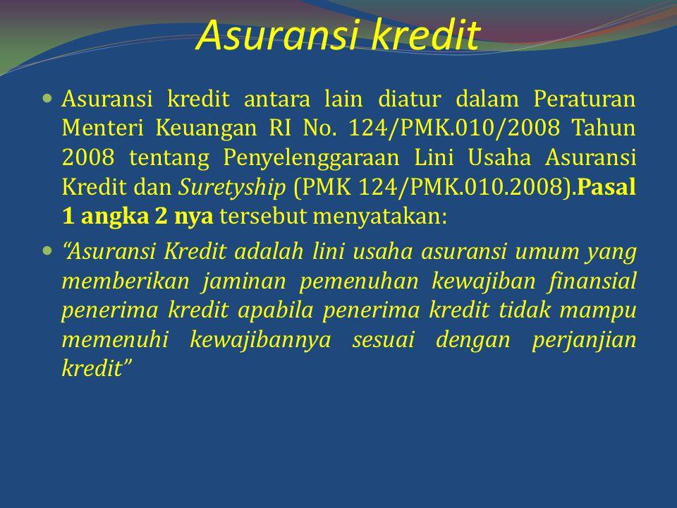 Asuransi kredit