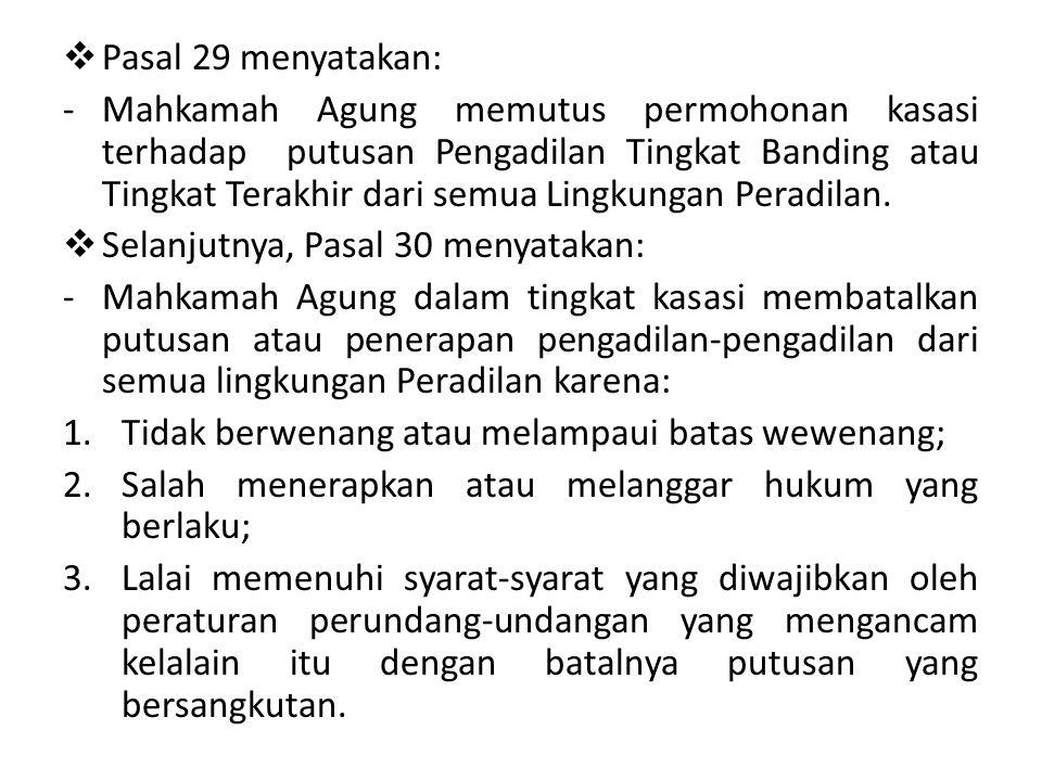 Pasal 29 menyatakan: