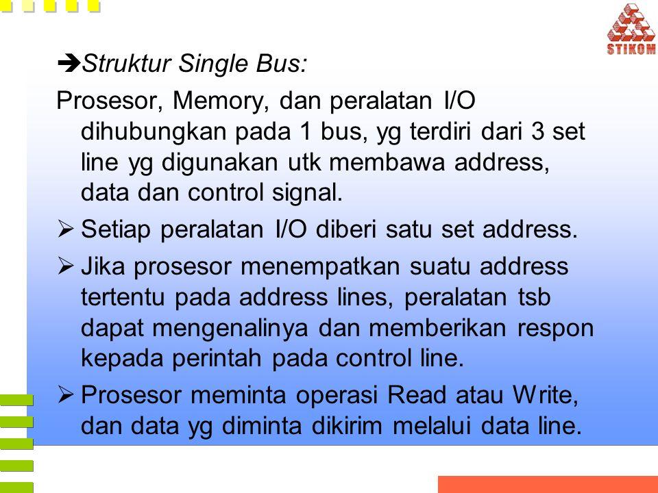 Struktur Single Bus: