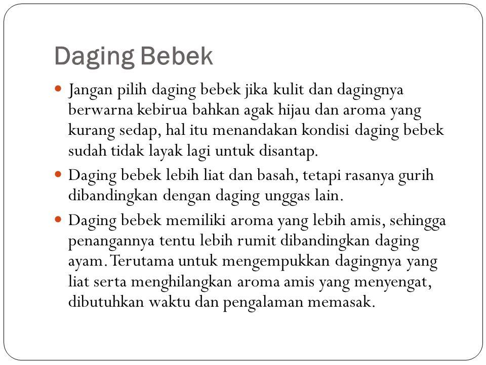 Daging Bebek