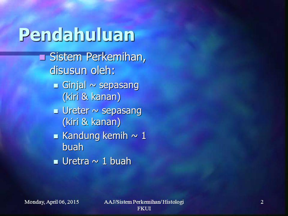 Ahmad Aulia Jusuf/ Histologi FKUI/2007