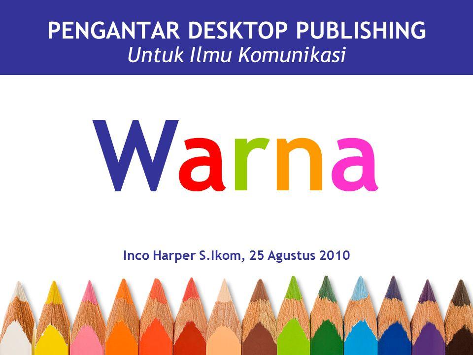 PENGANTAR DESKTOP PUBLISHING