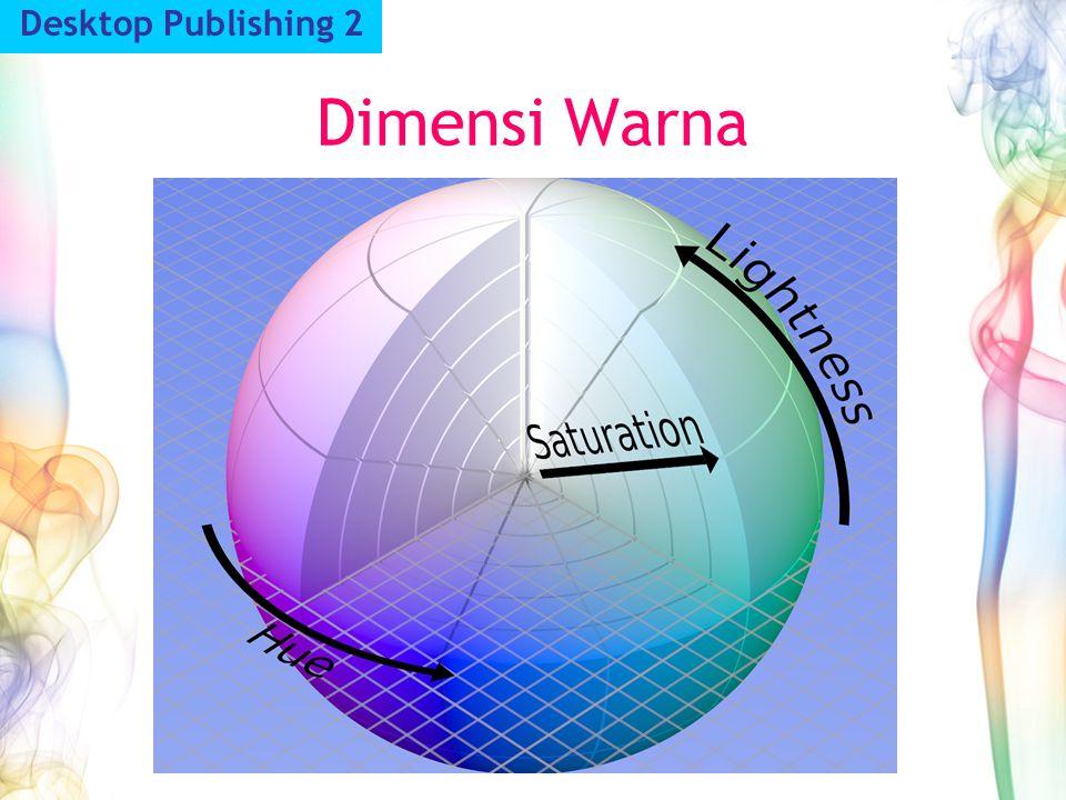 Desktop Publishing 2 Dimensi Warna