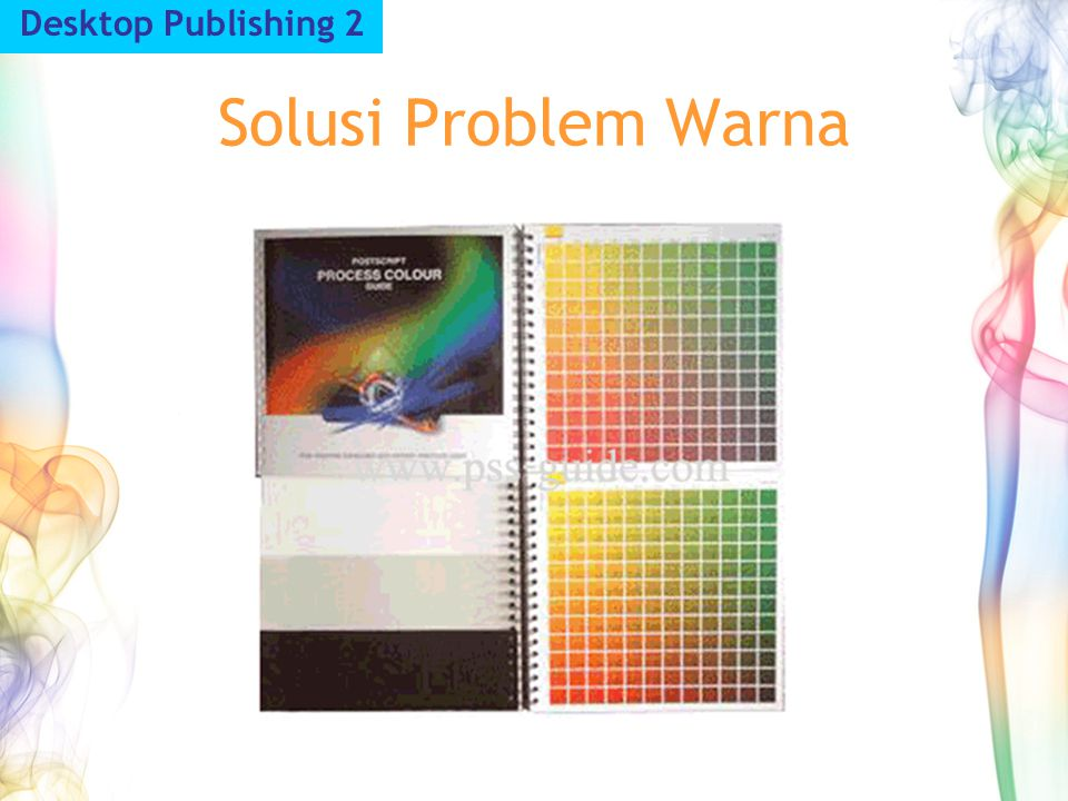 Desktop Publishing 2 Solusi Problem Warna
