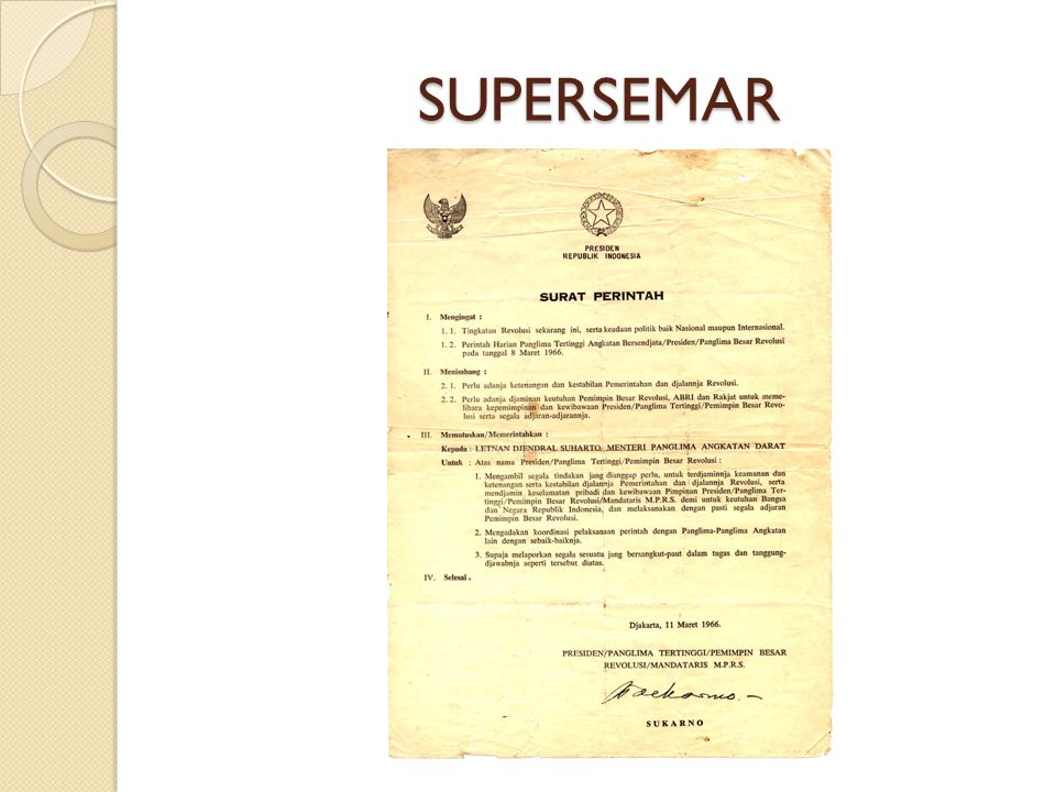 SUPERSEMAR