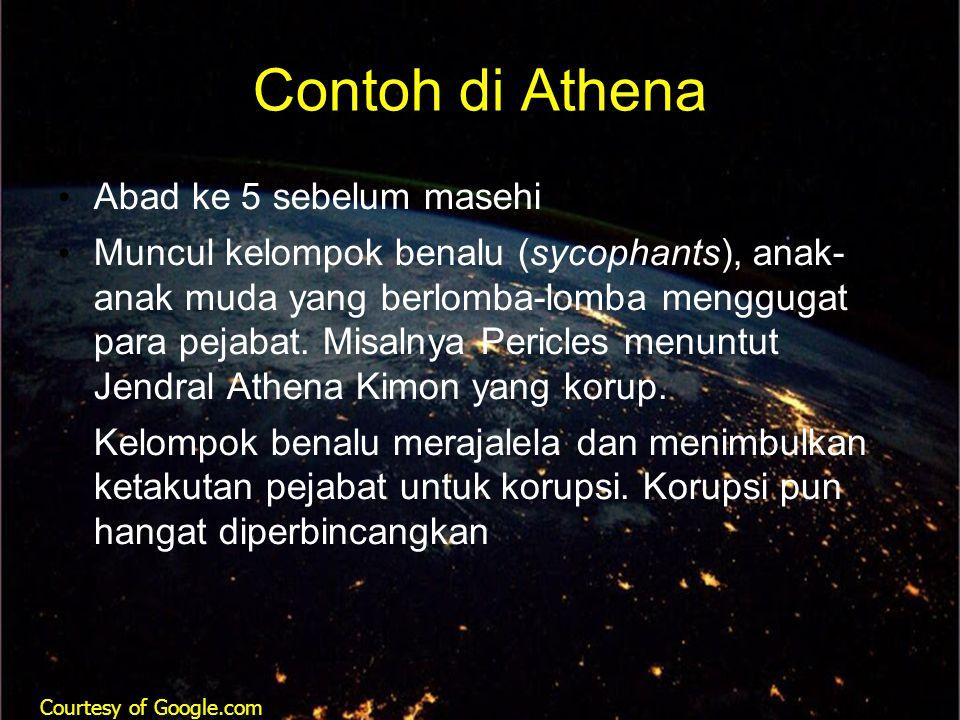 Contoh di Athena Abad ke 5 sebelum masehi