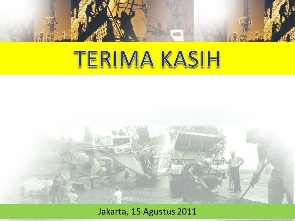 TERIMA KASIH Jakarta, 15 Agustus 2011