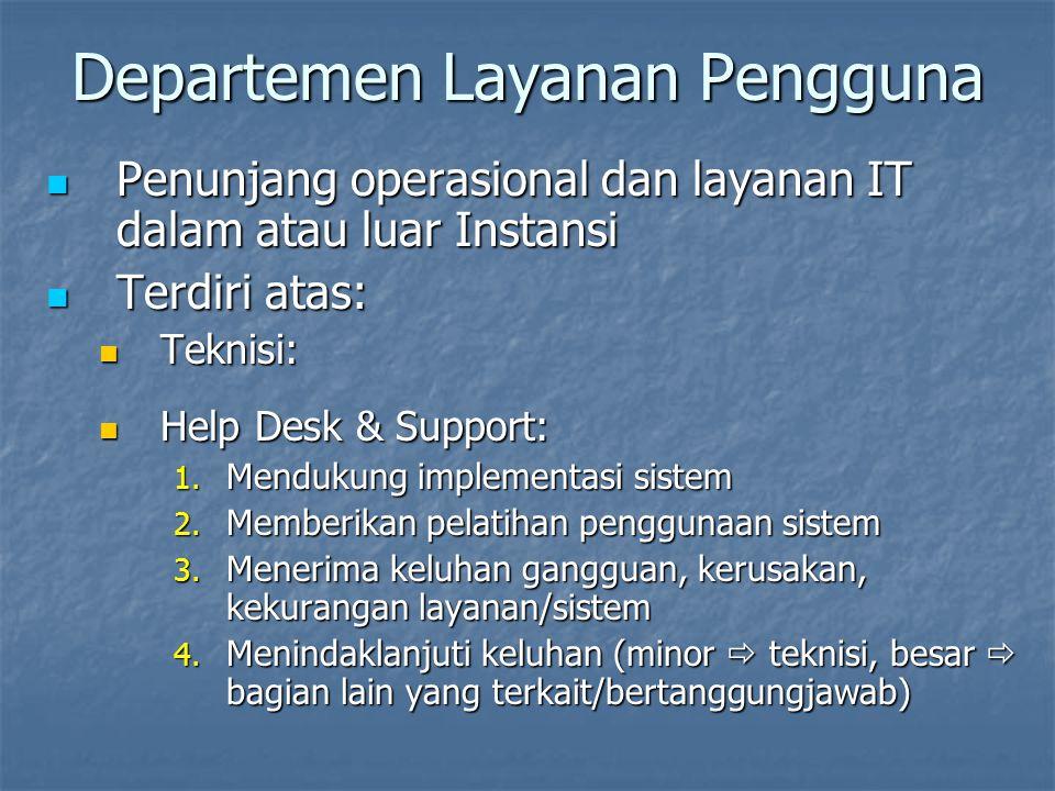 Departemen Layanan Pengguna