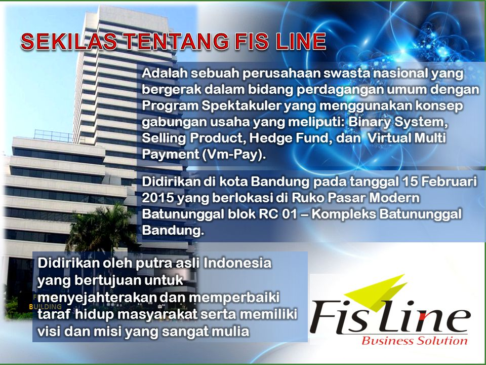 SEKILAS TENTANG FIS LINE