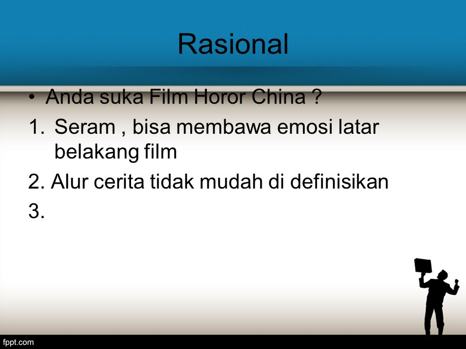Rasional Anda suka Film Horor China