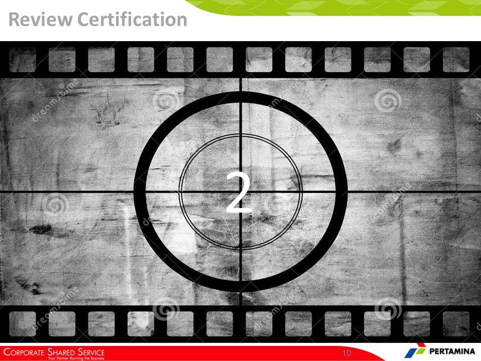 Klik Vendor Management >> HSE Certification >> Review Certification