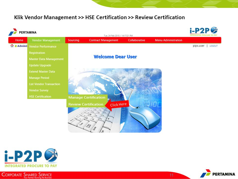 Review Certification Click Here.