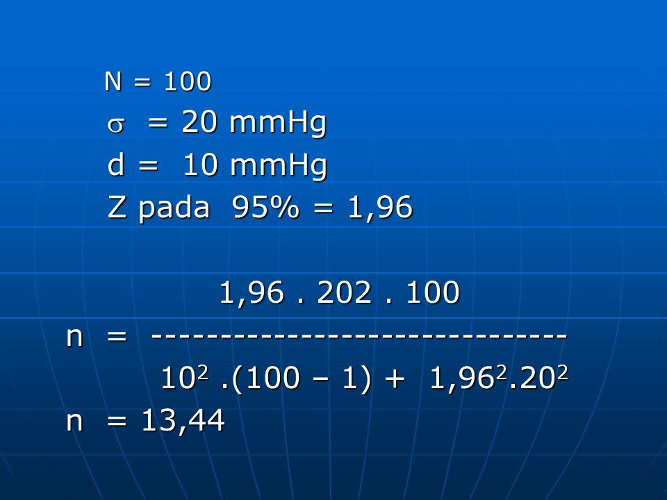 n = ------------------------------- 102 .(100 – 1) + 1,962.202