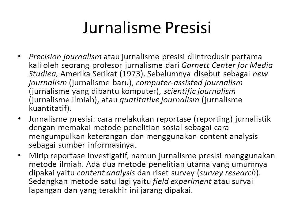 Jurnalisme Presisi