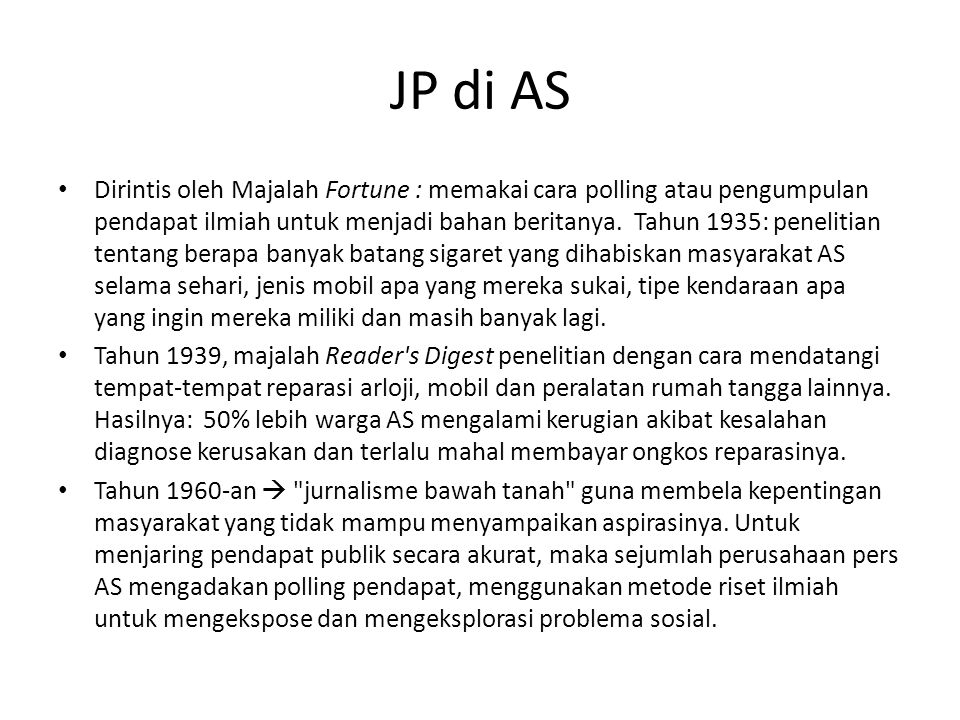 JP di AS
