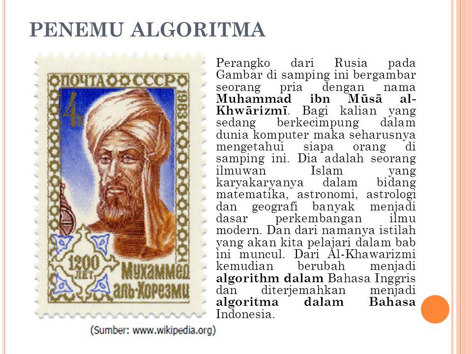PENEMU ALGORITMA