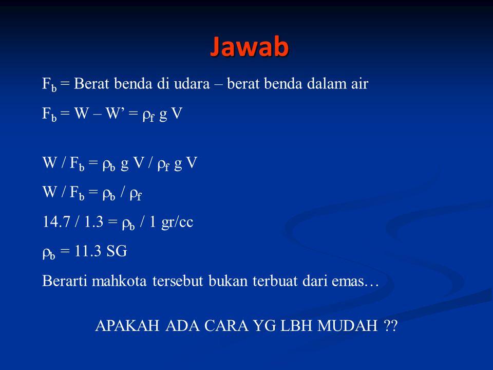 APAKAH ADA CARA YG LBH MUDAH