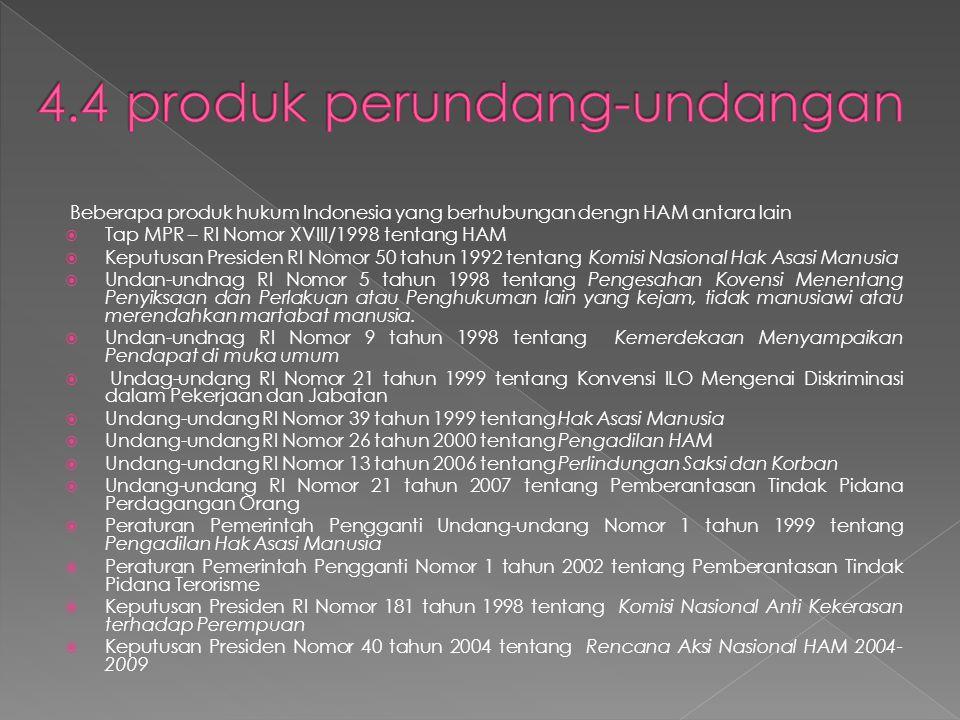 4.4 produk perundang-undangan