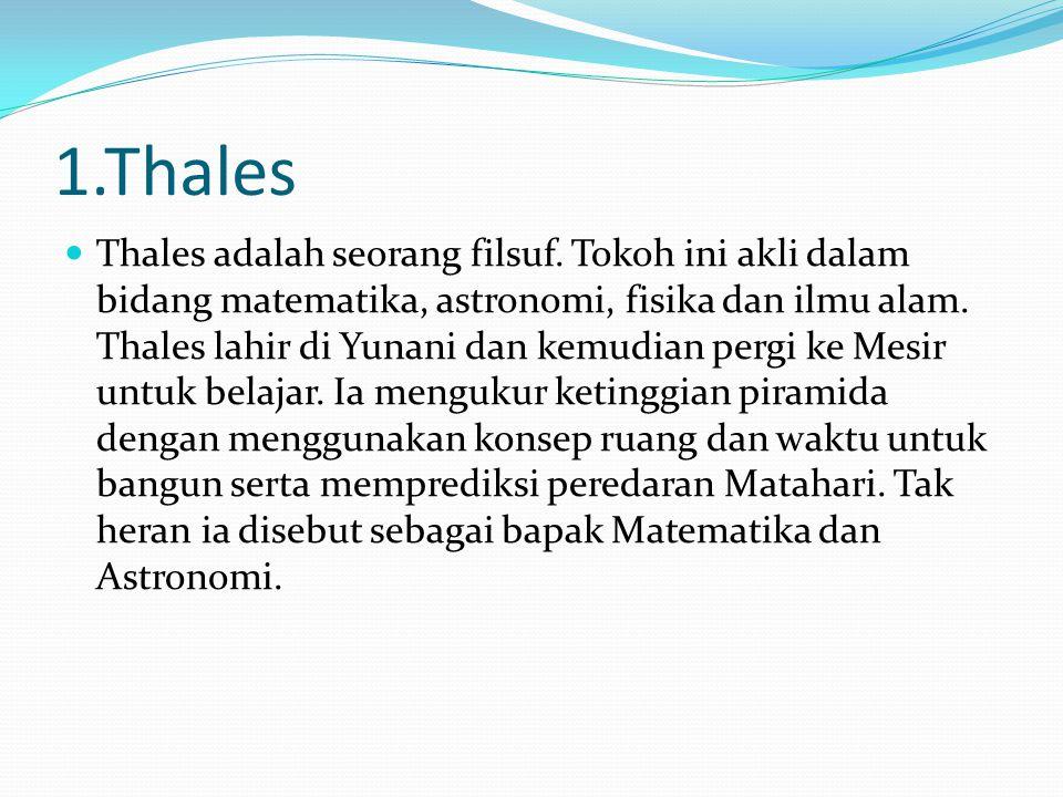 1.Thales
