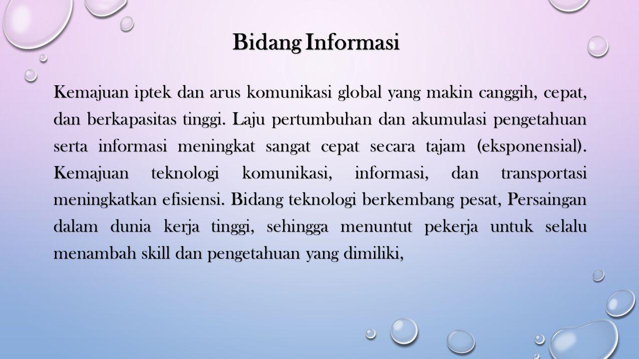 Bidang Informasi