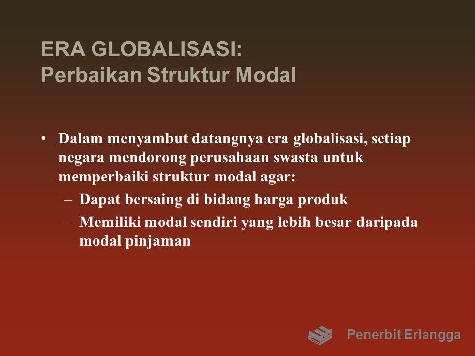 ERA GLOBALISASI: Perbaikan Struktur Modal