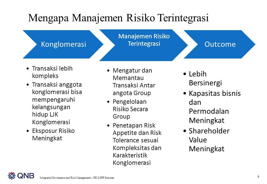 Manajemen Risiko Terintegrasi