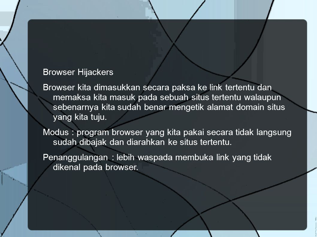 Browser Hijackers