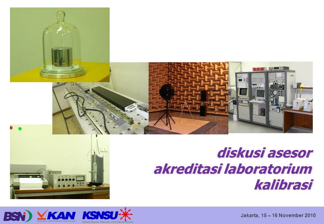 diskusi asesor akreditasi laboratorium kalibrasi